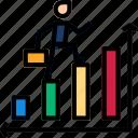 analytics, board, presentation icon icon