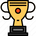 award, cup, trophy, trophy icon icon