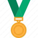 award, gold, medal, medal icon icon