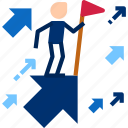 career, employee, growth, growth icon icon