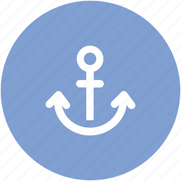 anchor, boat anchor, nautical, navigational, sea, ship anchor icon