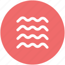 ocean, sea, sea waves, water, water waves, waves icon