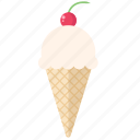 beach, cone, dessert, icecream, icecream cone, summer