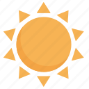 beach, summer, sun, sunshine icon