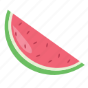 food, fruit, melon, summer, watermelon icon