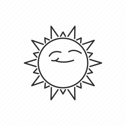 day, forecast, hot, summer, sun, sunshine, weather icon