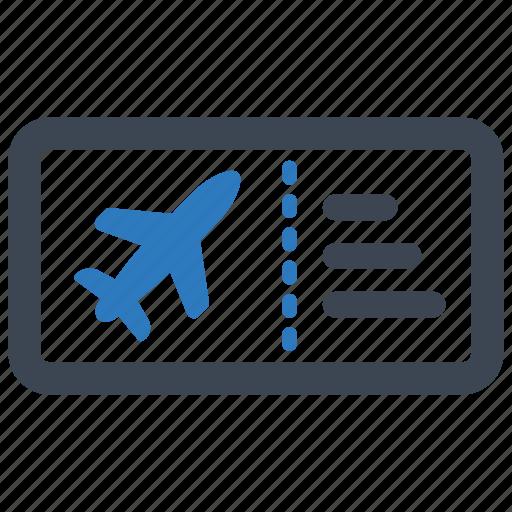 Flight, plane, ticket icon - Download on Iconfinder