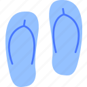 boots, flip flops, footwear, shoes, slipers icon