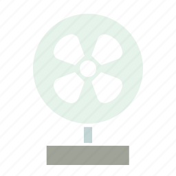 air, appliance, breeze, device, fan, table icon