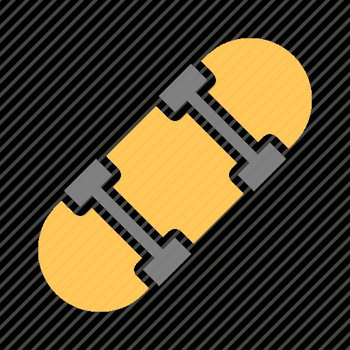 activity, fun, recreation, skate, skateboard, skating icon