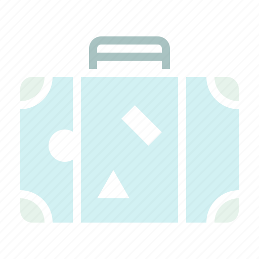 baggage, holiday, luggage, tour, travel, trip, vacation icon
