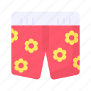 clothes, fashion, pants, shorts, sports, sportswear, swimsuit icon