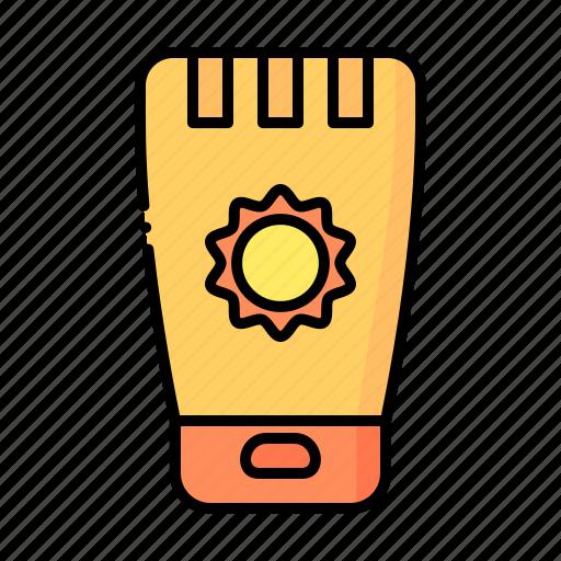 Beauty, cream, skincare, sun, suncream, sunprotection, sunscream icon - Download on Iconfinder