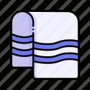 beach, dry, sauna, towel, towels, wellness
