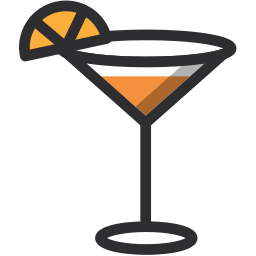 alcohol, cocktail, drink, drinking, leisure, party, summsertime icon