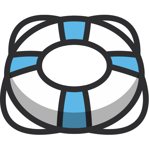 float, life guard, life ring, lifering, ring, security icon