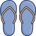 clothes, clothing, fashion, flip, flops, footwear, shoes icon