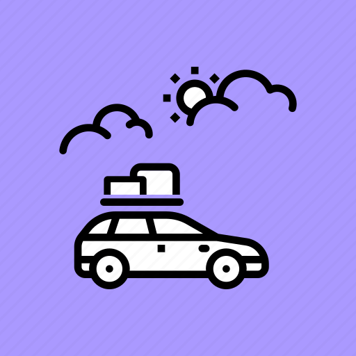 camping, car, expedition, holiday, travel, trip, vacation icon