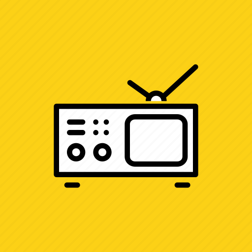 entertainment, portable, television, travel, tv, vacation, watch icon