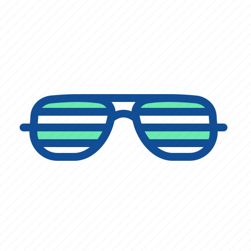 accessory, eyeglasses, fashion, specs, spectacles, summer, sunglasses icon
