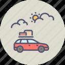 camping, car, expedition, holiday, travel, trip, vacation