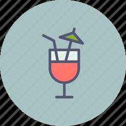 beverage, cocktail, drink, juice, lounge, mocktail, summer icon