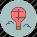 air, balloon, fly, holiday, hot, parachute, travel