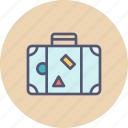 baggage, holiday, luggage, tour, travel, trip, vacation