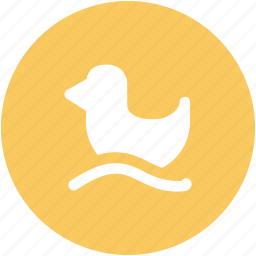 duck, duck in water, duckling, rubber duck, shower duck icon