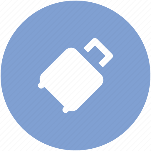 attache case, baggage, luggage, luggage bag, suitcase, travel bag icon