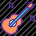 concert, guitar, instrument, music, musical, picnic, hygge