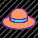 accessory, brim, clothing, fashion, hat, summer, wear