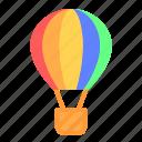 air, aircraft, airplane, balloon, fly, hot air balloon, transport