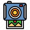 polaroid, camera, instant, photographer, digital