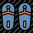 sandals, flipflops, slippers, shoe, beach