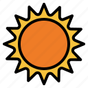 sunny, sun, summer, weather, worm