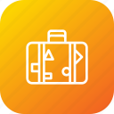 adventure, backpack, bag, beach, case, luggage, suitcase icon