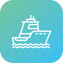 boat, cruise, ocean, sea, ship, vehicle, water