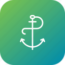 anchor, boat, marine, sailing, sailor icon