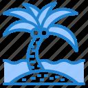 plam, tree, coconut, summer, sand, beach