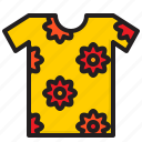 t, shirt, cloth, flower, summer