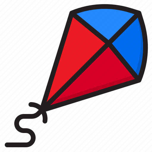 Kite, toy, flying, play, wind icon - Download on Iconfinder