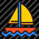 sailboat, boat, yacht, ship, travel