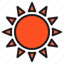 sun, suny, summer, hot, weather