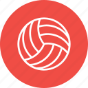 ball, beach, fun, game, sport, volleyball icon