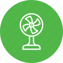 device, electric, equipment, fan, fancy, tablefan icon