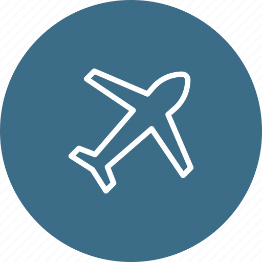 Aeroplane, airplane, flight, fly, holiday, plane, vacation icon - Download on Iconfinder