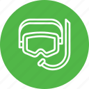dive, glass, protection, safety, scuba, swimsuit, under water icon