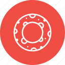 ifesaver, lifebuoy, support, swimming, water icon