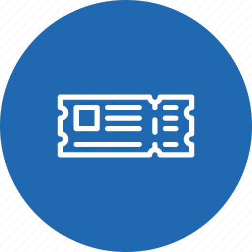 entry, holiday, pass, ticket, vacation icon